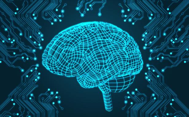 An Image of an artificial brain